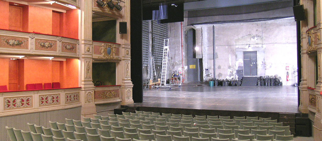 Visite du Théâtre Charles Dullin