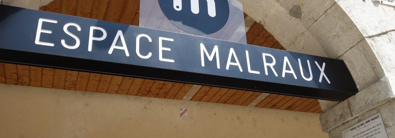 Visite de l'Espace Malraux