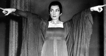 FILE--Opera singer Maria Callas is seen during a rehearsal of the three-act opera 'Medea' at the Royal Opera House at Covent Garden in London, England, in this 1959 file photo. The collection of more than 400 items belonging to La Divina, as Callas was dubbed, will be sold in Paris next month. (AP Photo/ File)