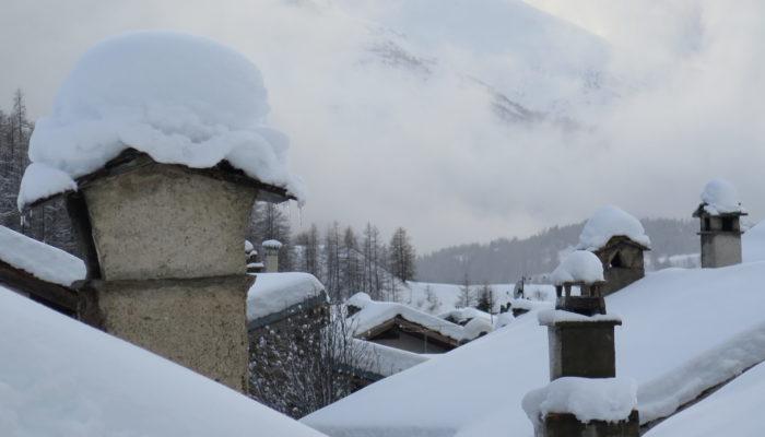 Ô la neige !