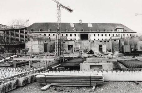 Les débuts de la construction de Malraux