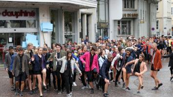 Sylvain Muscio / 13 septembre 2016 Répétition biennale de la danse à Lyon demain dimanche