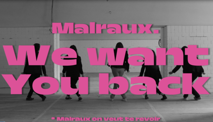 We Want You Back to Malraux !