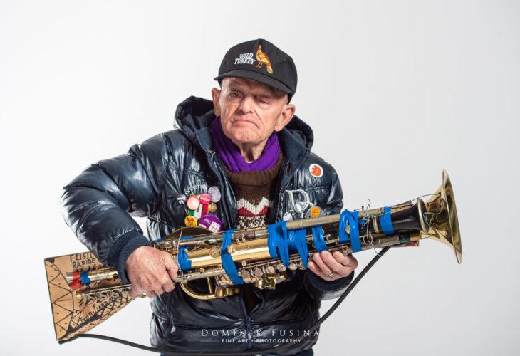 André Robillard construit un fusil
