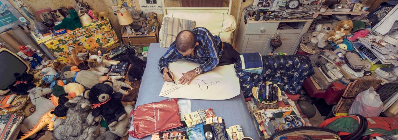 Annulé <br> RDV à penser : André Robillard et la collection de l'art brut de Lausanne, une histoire d'amour