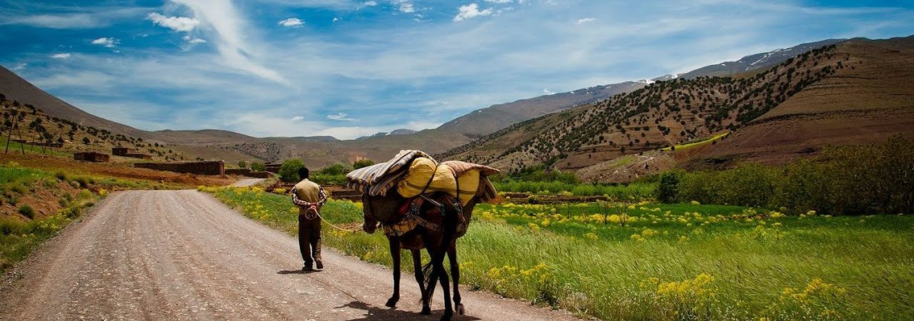 Les Aït Bouguemez ou la vallée heureuse – Haut Altas Marocain